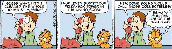 Garfield 03-29-2008
