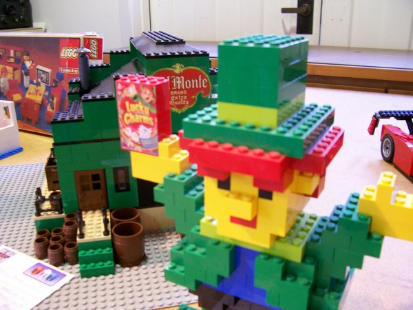 Lucky Charms in Lego