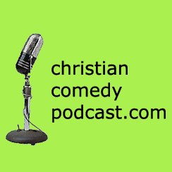 Christian Comedy Podcast logo