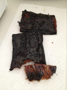 Jeremy's burned Pop Tarts