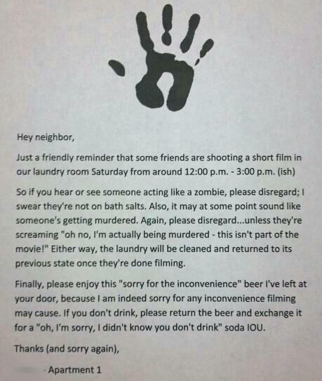 Zombie neighbor