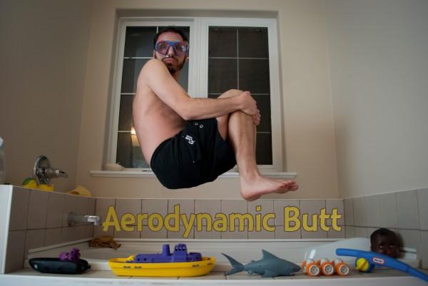 Aerodynamic butt