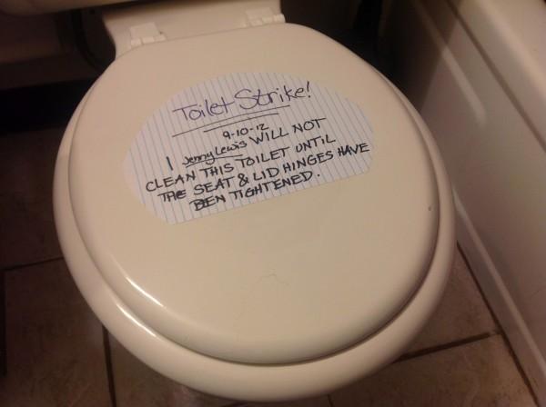 Toilet Strike