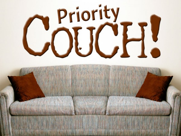 Priority Couch clean comedy podcast 128
