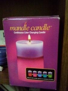 Mandle Candle